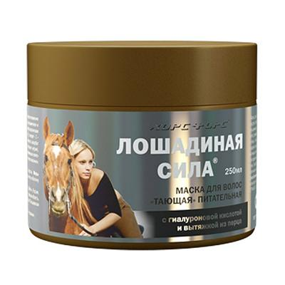 """Hair Mask Nourishing """"Melting"""" w/ Paprika & Hyaluronic Acid, 8.45 oz/ 250 ml (Horse Force)"""