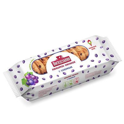 """""""Posidelkino"""" Oatmeal Cookies w/ Raisin, 320gr"""