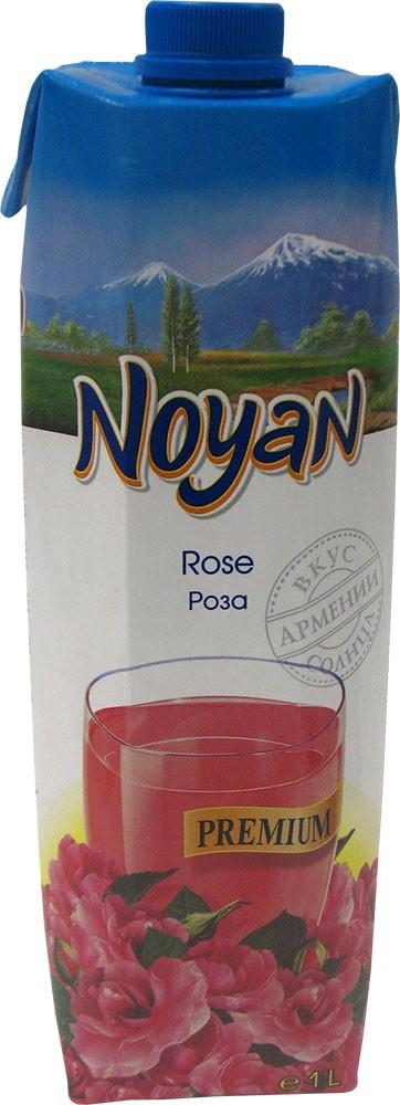 Natural Premium Armenian Noyan Rose Juice, 34 oz / 1 L