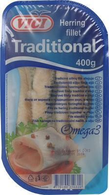 VICI Herring Fillet Traditional, 14.1 oz / 400 g