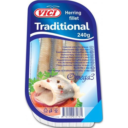 VICI Herring Fillet Traditional, 8.5 oz / 240 g
