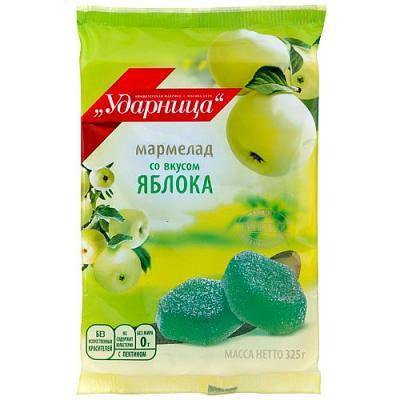 Marmalade Udarnitsa with Apple Flavor, 11.46 oz/ 325 g