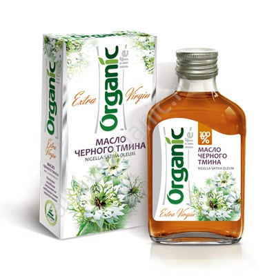 Organic Black Cumin Oil Extra Virgin, 3.38 oz / 100 Ml