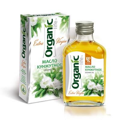 Organic Sesame Oil Extra Virgin, 3.38 oz / 100 Ml