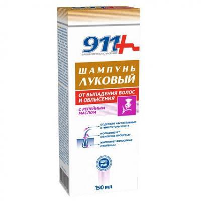 Shampoo Hair Loss Preventing Onion with Burdock Oil, 5.07 oz/ 150 Ml