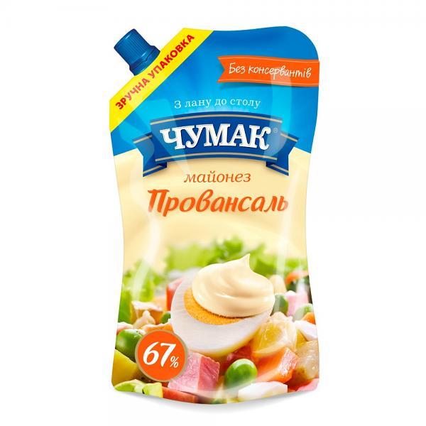 """Mayonnaise """"Chumak"""" Provensal, 13.6 oz / 385 g"""