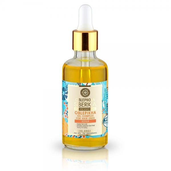 ACTIVE ORGANICS Sea Buckthorn Oil Set for Hair Tips, 1.69 oz/ 50 Ml