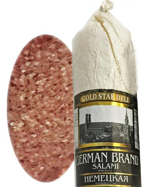 German Brand Salami Chunk, 0.9 lb / 0.4 kg