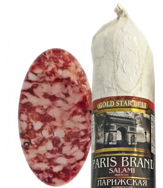 Paris Brand Salami Chunk, 0.9 lb / 0.4 kg