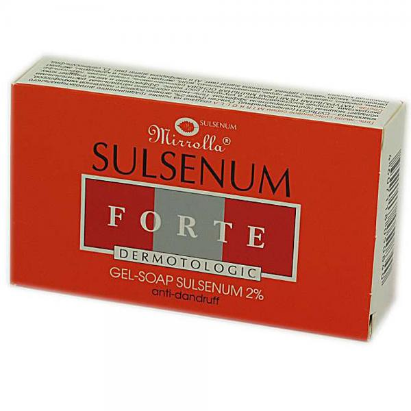 Sulsen Forte Sulsenum Soap Anti Dandruff, 3.35 oz/ 100 g