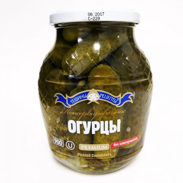 Pickled Cucumbers, 900 g