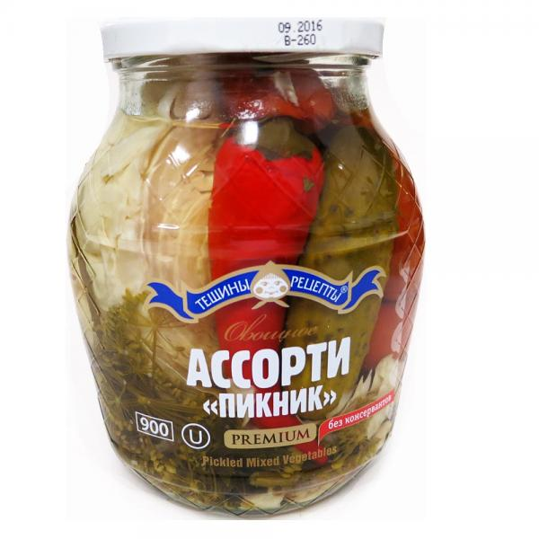 "Pickled Mixed Vegetables ""Picnic"", 14.46 oz/ 410 g"