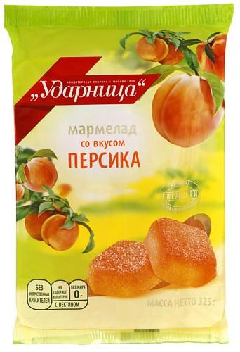 Marmalade Udarnitsa with Peach Flavor, 11.46 oz / 325 g