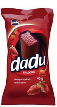 Dadu Strawberry Cheesecake Bar, 1.58 oz / 45 g