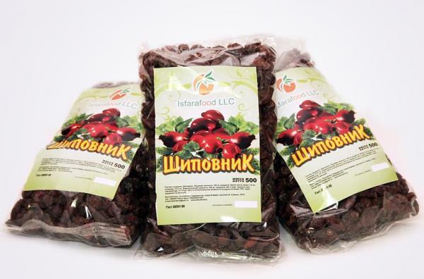 Dried Rosehip Fruits, 3.38 oz/ 100 g