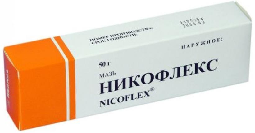 Nicoflex Ointment, 1.76 oz/ 50 g