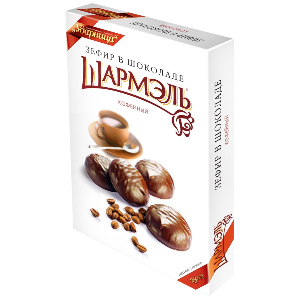 Zefir Marshmallow Coffee Flavor, Sharmel, 8.82 oz / 250 g