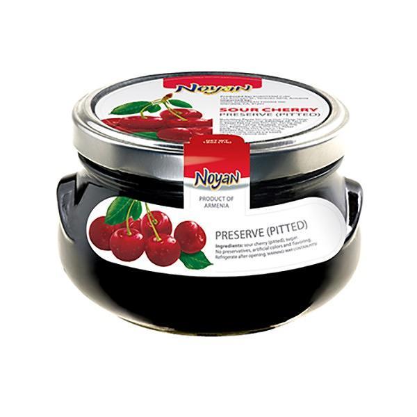 "Sour Cherry Preserve (Pitted) ""Noyan"", 1 lb / 0.45 kg"