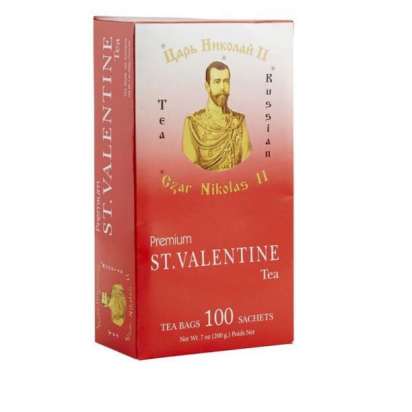 Tea Czar Nicholas II St.Valentine , 100 tea bags