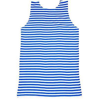 Sleeveless Russian Telnyashka Shirt, size 56-58 (European XL)
