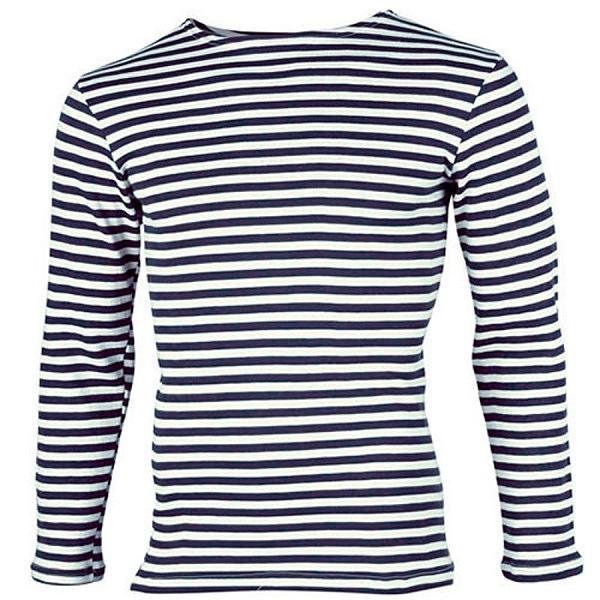 Fleece Long Sleeve Russian Navy Telnyashka Shirt, size 52-54 (European L)