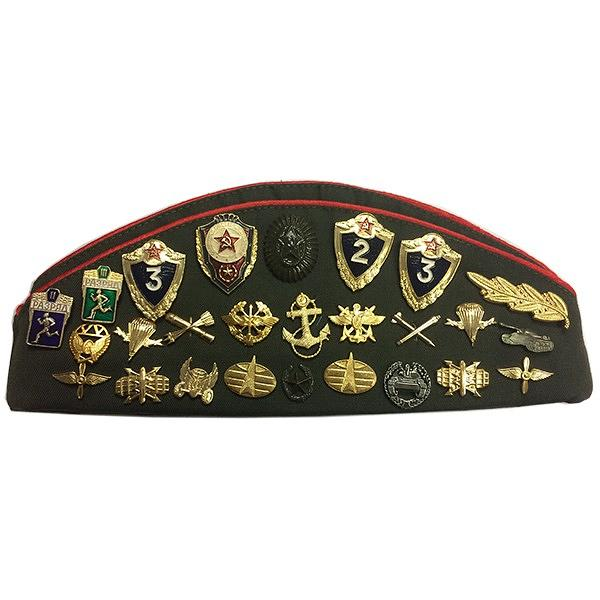 Officer Forage Cap (Pilotka) with Badges, size 56