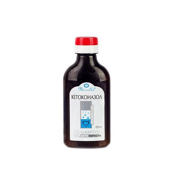 Dermatological  Shampoo with Ketokonazole, 5.07 oz / 150 ml
