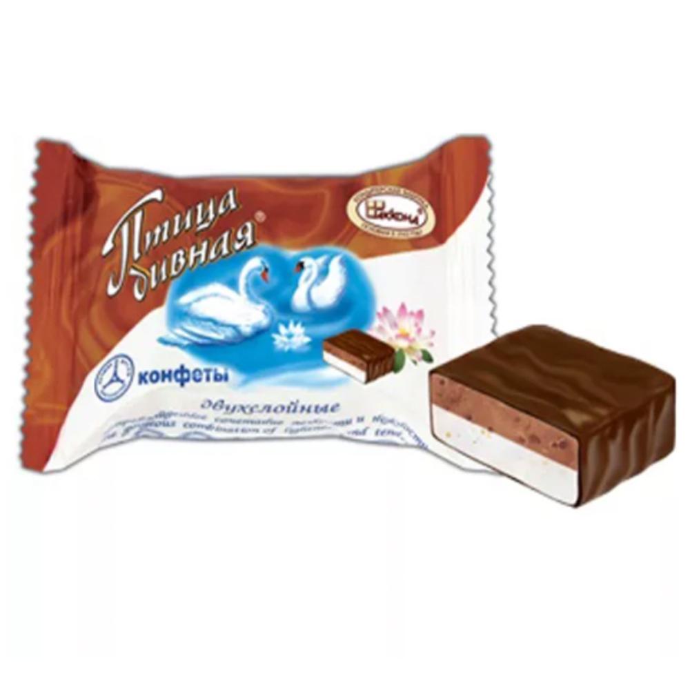 Wonderful Bird Double Layer Souffle Candy, Akkond, 0.5 lb / 0.22 kg