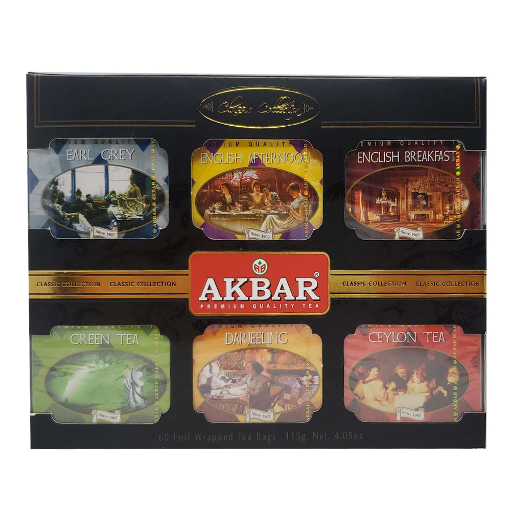 Akbar Tea Classic Collection, 6 flavors