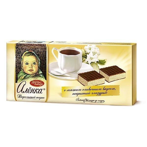 "Chocolate Waffle Cake ""Alenka"", 8.8 oz/ 250 g"