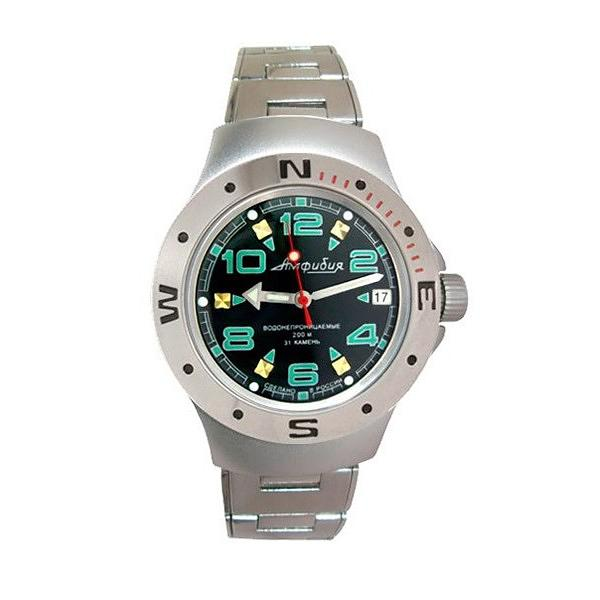 Vostok Amphibian Classic Russian Military Diver's Automatic Men's Watch (060334)