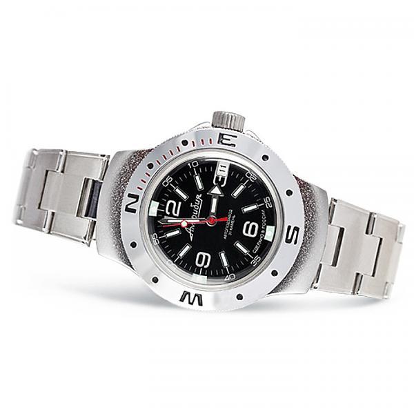 Vostok Amphibian Russian Military Diver Mechanical Men's Watch (060640)