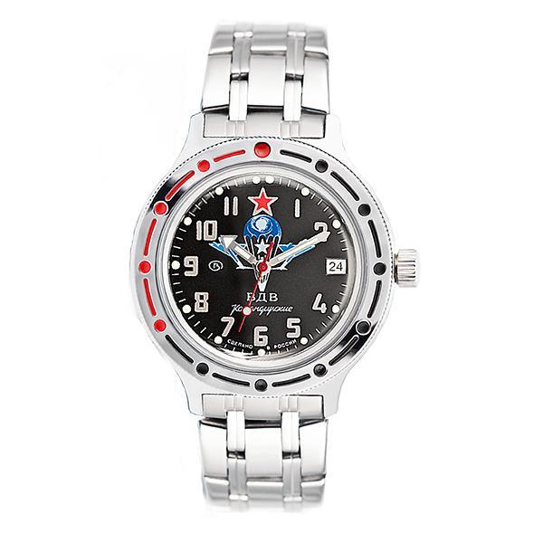 Vostok Amphibian Classic Russian Military Automatic Men's Watch VDV (420288)