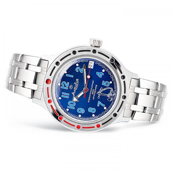 Vostok Amphibian Russian Military Diver's Mechanical Men's Watch (420382)