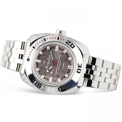 Vostok Amphibian Russian Military Diver's Mechanical Men's Watch (710448)