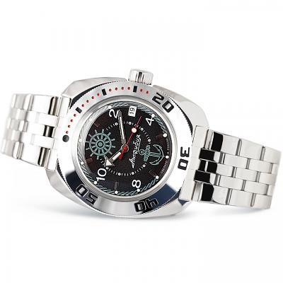 Vostok Amphibian Russian Military Diver's Mechanical Men's Watch (710526)