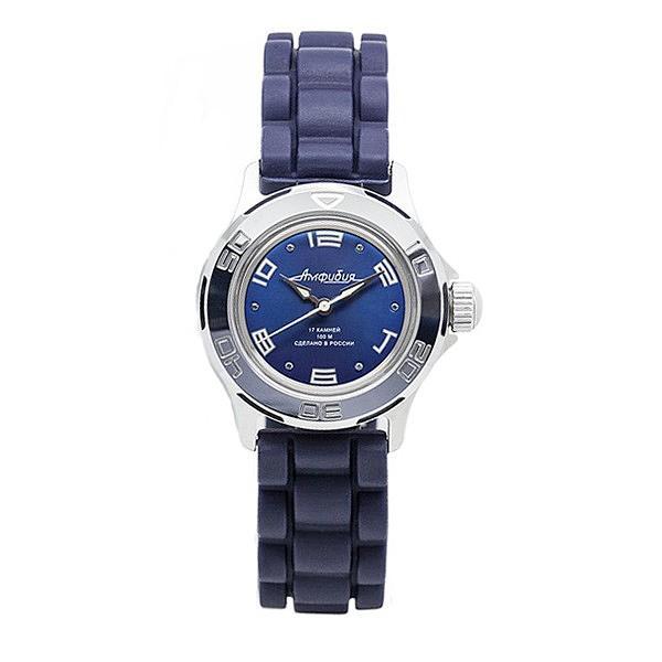 Vostok Amphibian Russian Automatic Women's Watch (051463) - Blue