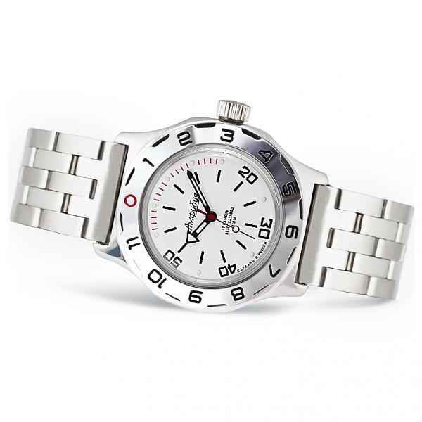 Vostok Amphibian Russian Military Diver's Mechanical Men's Watch (100822)