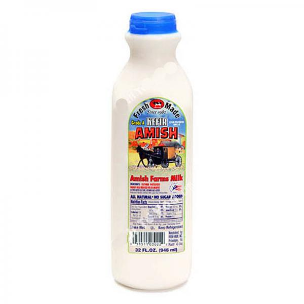 Amish Kefir Fresh Made, 32 oz / 0.94 L