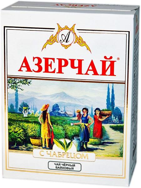 """Black tea with thyme by """"Azerchay"""" 100g"""