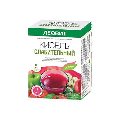 Laxative Kissel, 20 g / 1 pack (Leovit)