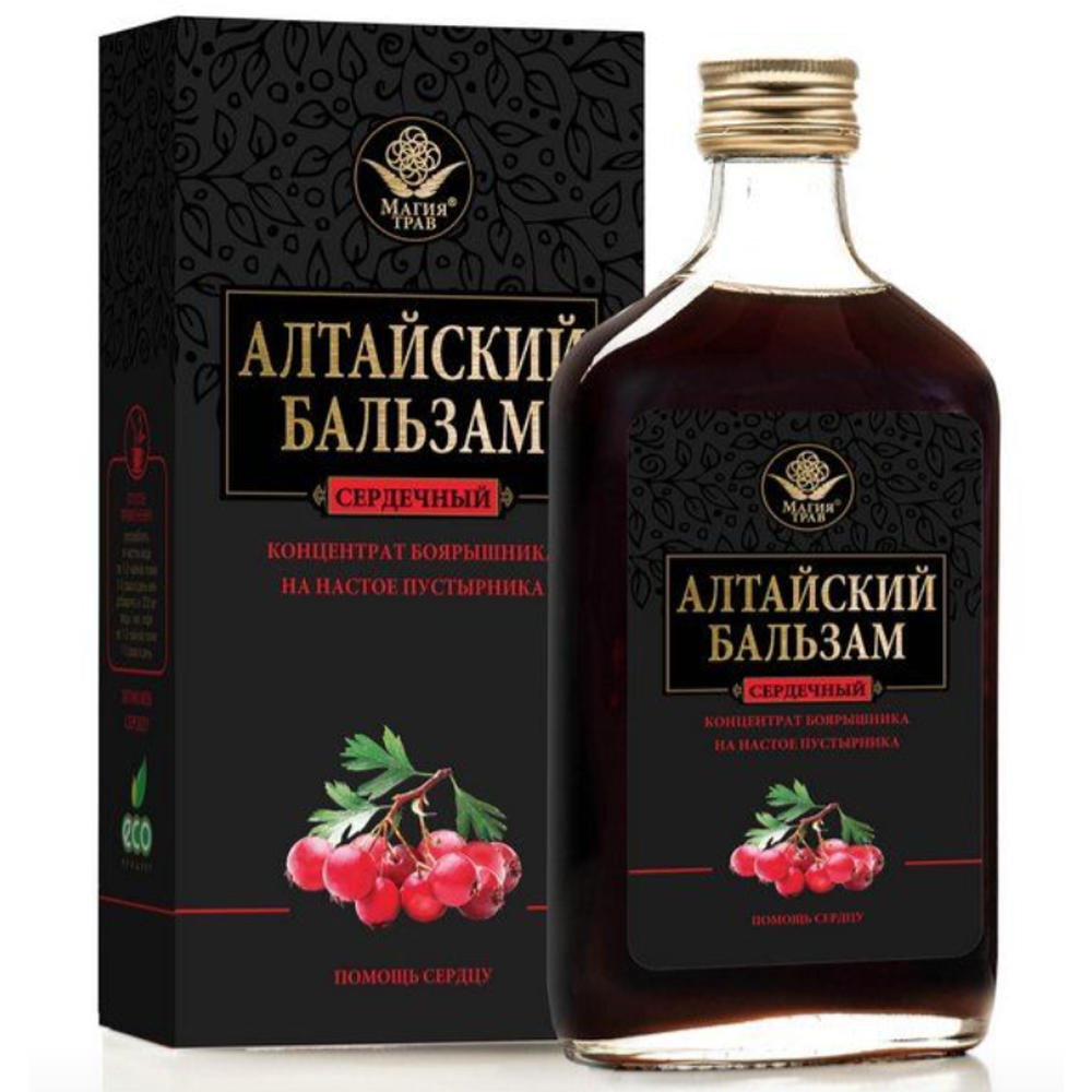 Altai Balsam for Heart, Magiya Trav, 250 ml/ 8.45 oz