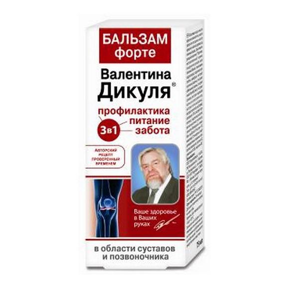 Valentin Dikul Balm-FORTE (joints, spine), 125 ml/ 4.23 oz