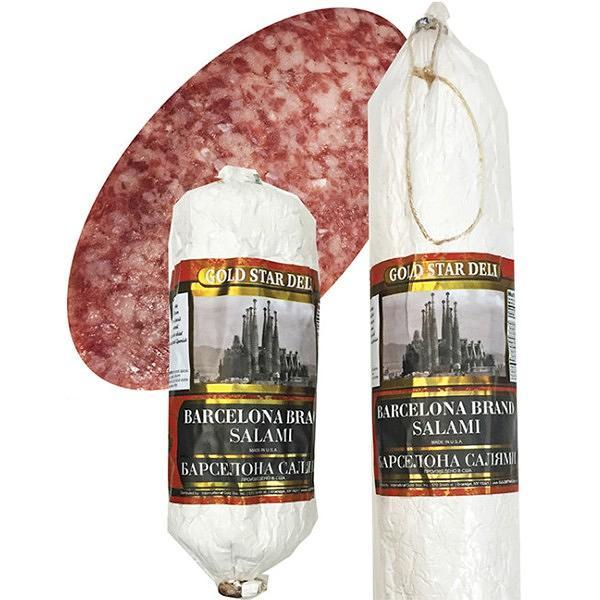 Barcelona Dry Salami Chunks, 0.8 lb / 363 g