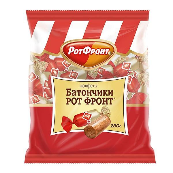 "Candy ""Batonchiki"" (Rot Front), 8.8 oz / 250 g"