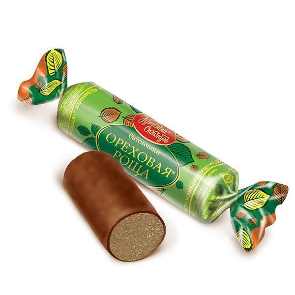 """Candy Bar""/ Batonchiki ""Orechovaya Rosha"" 0.5Lb"