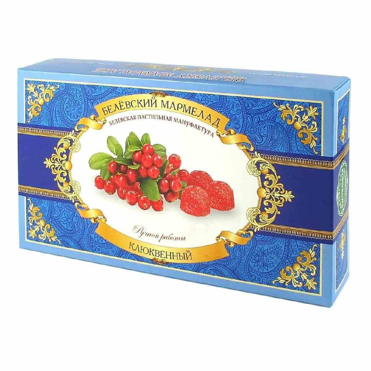 Cranberry  Marmalade, Belev, 280 g/ 0.62 lb