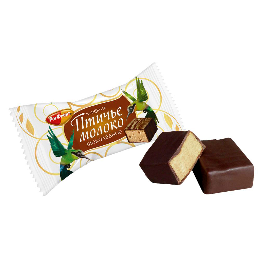 Souffle Candy Chocolate Bird's Milk, 0.5 lb / 0.22 kg