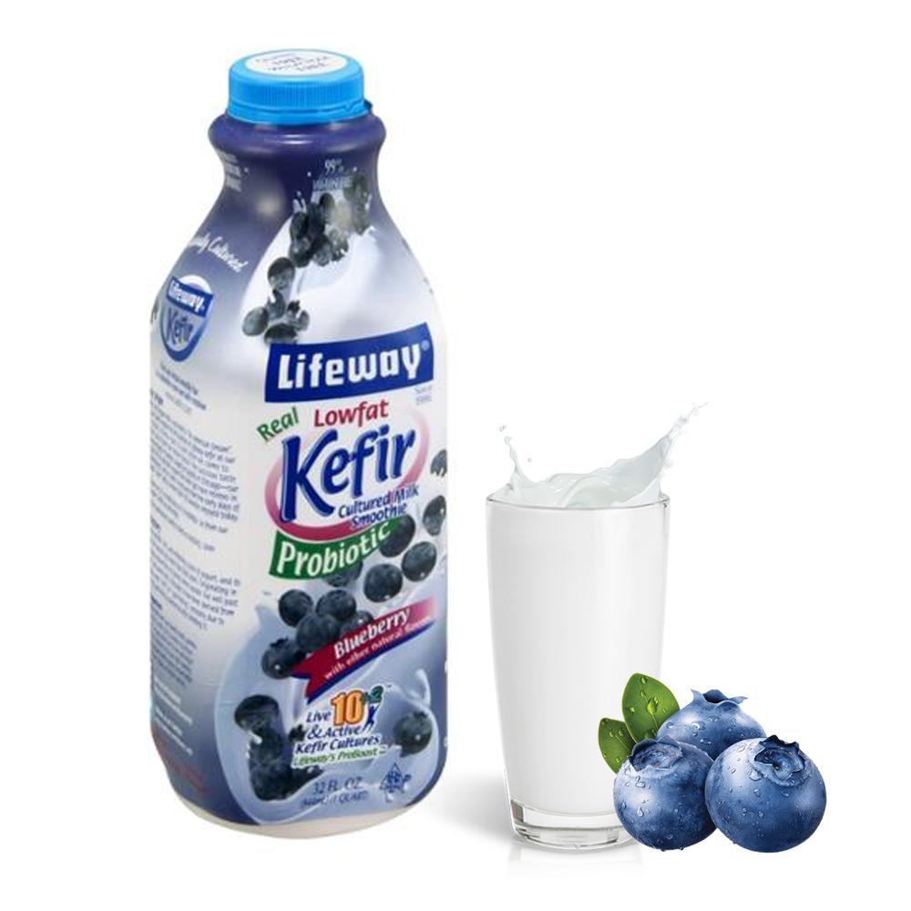 Lifeway Low Fat Kefir with Bluеberry, 32 oz / 0.94 L