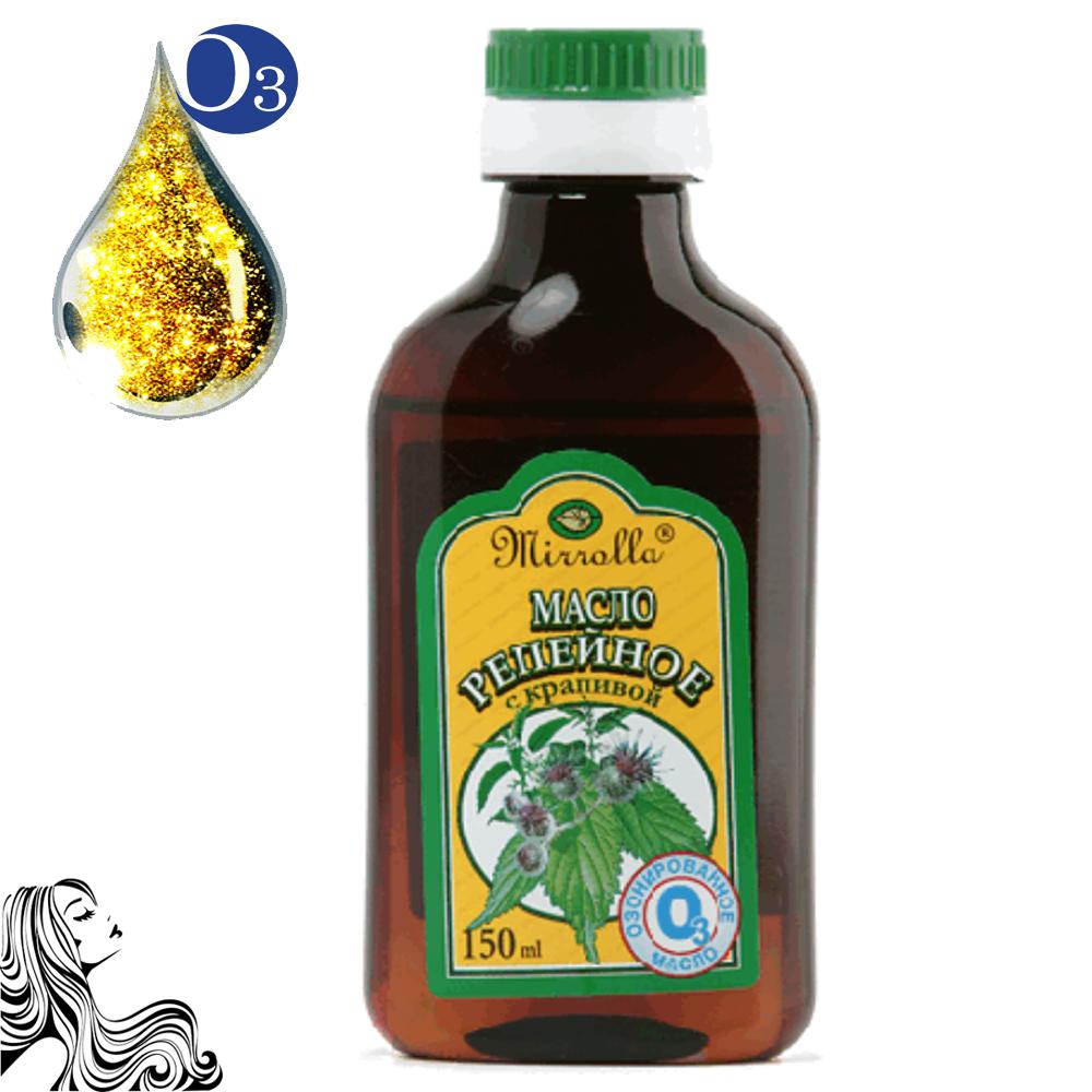 Ozonated Burdock Oil with Nettle Extract, 5.07 oz / 150 ml